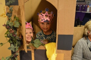 They enjoyed being princesses in the tower
