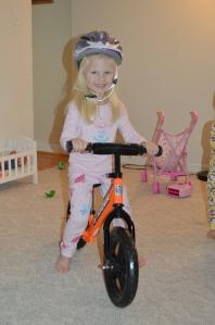 Lillian's 1st bike
