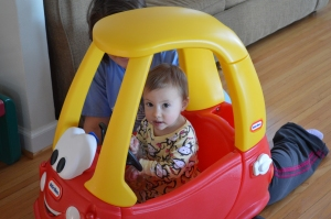 A new car for Norah!