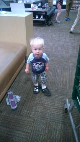 Shoe shopping with Leeland