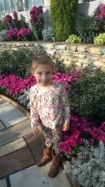 Norah in the Sunken Garden