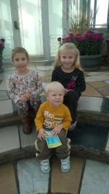 All three kiddos