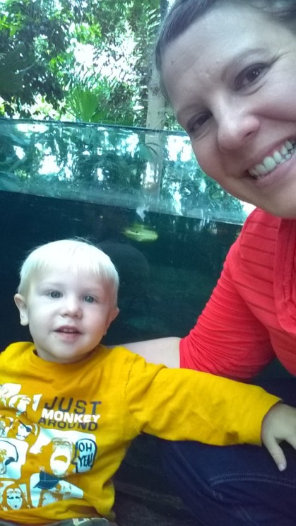 Leeland and Mommy Selfies